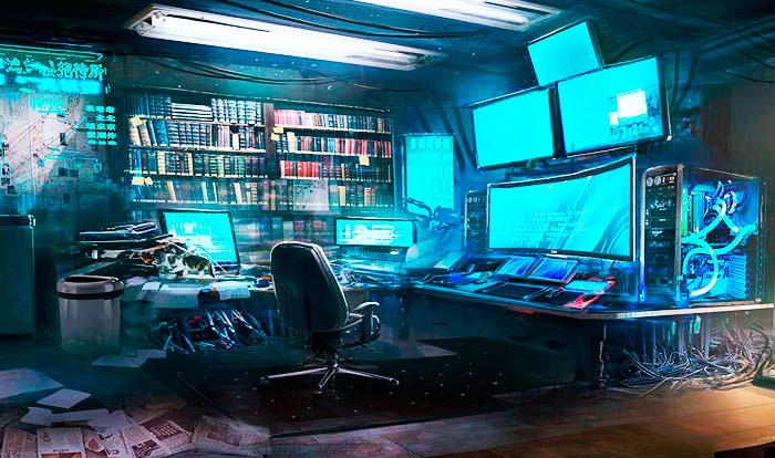 Кибермир - реальность для киберспортсмена.